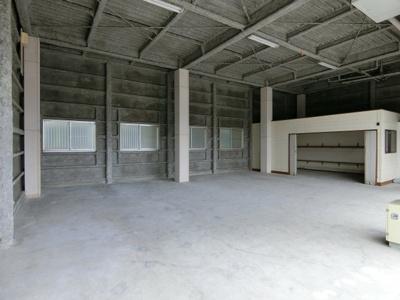 1階倉庫部分