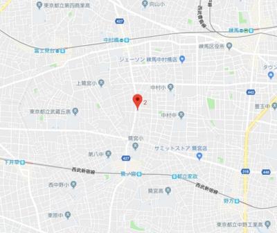 【地図】Branche鷺ノ宮
