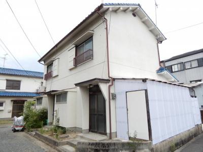【外観】栄町薮内貸家1