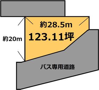 【土地図】東石岡 250万円