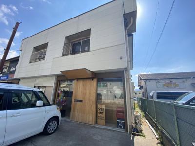 【外観】古屋住居付店舗
