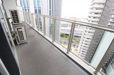 【バルコニー】アーバンライフ神戸三宮ザ・タワー