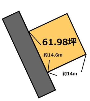 【土地図】フラワ-ヒル 180万円