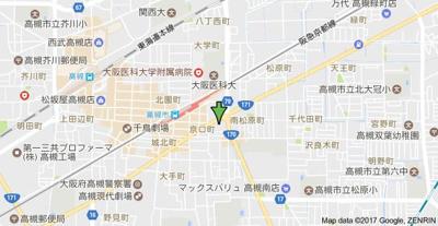 【地図】グランベール京口 (株)Roots