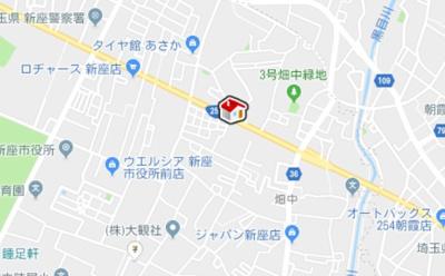 【地図】レオパレス新座サンハイツ(38584-401)