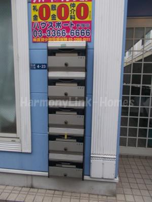 グレースサイネリアの郵便ボックス