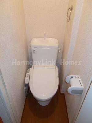 グレースサイネリアの清潔感のあるトイレです☆