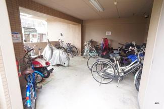 「駐輪場&バイク置場」