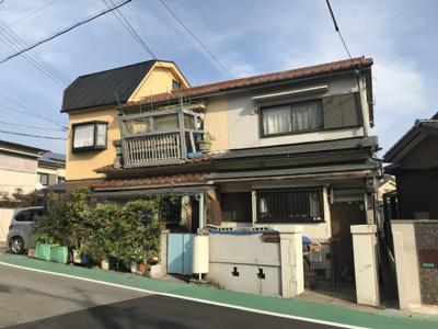 3戸一の南端家屋です。