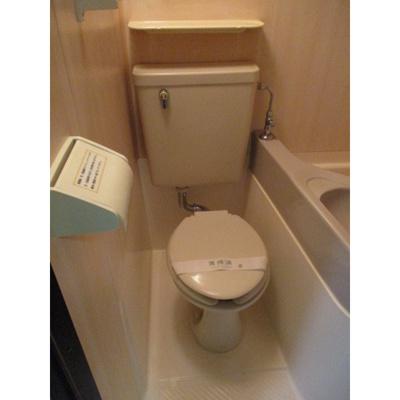 ダイヤモンドスクエア駒形のトイレ