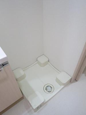 マキシヴ東向島フュージョナルの室内洗濯機置き場