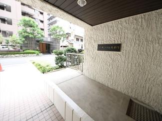 昭和通から少しはいったところの閑静な住宅街です