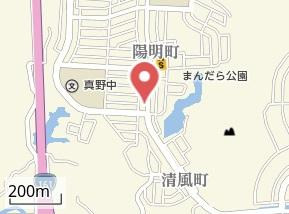 【地図】せいふうレンタル収納庫