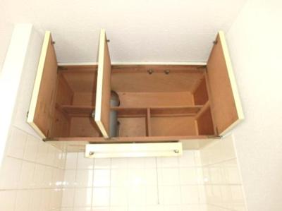 キッチン上部の収納です♪