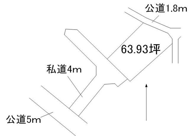 【土地図】城里町増井土地