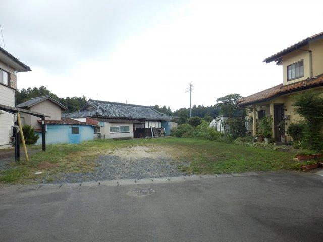 【前面道路含む現地写真】城里町増井土地