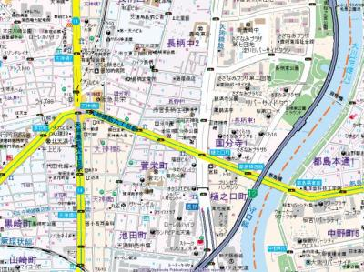 【地図】Mille Feulle 国分寺