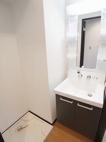 プライディア幕張の独立洗面台