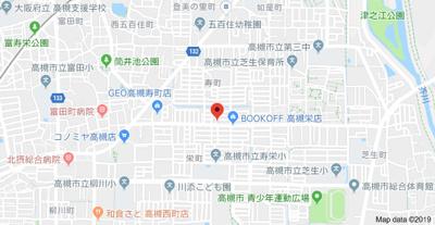 【地図】メラレンタルハウス4