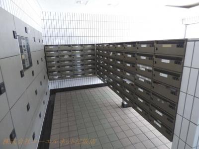 1階部分の集合ポスト