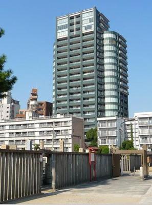 【外観】シティタワー四天王寺夕陽丘