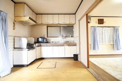 【キッチン】伏見区日野谷寺町 中古戸建