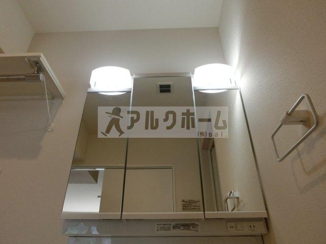 ヘーベルメゾンフュチュール(堅下駅) 洗面台