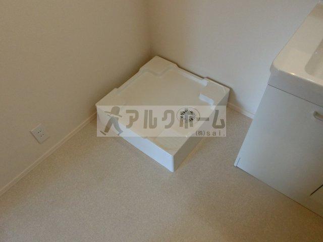 ヘーベルメゾンフュチュール(堅下駅) 室内洗濯機置き場