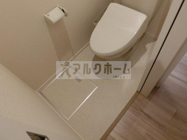 ヘーベルメゾンフュチュール(堅下駅) お手洗い(温水洗浄暖房便座)