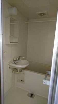 【浴室】ファームサイドB棟