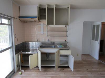 【キッチン】ビレッジハウス三草