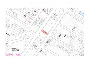 【地図】鳴門市鳴門町高島字中島No.40