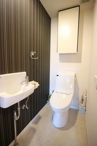 【トイレ】アイランドシティ照葉テラスマリナコート1番館