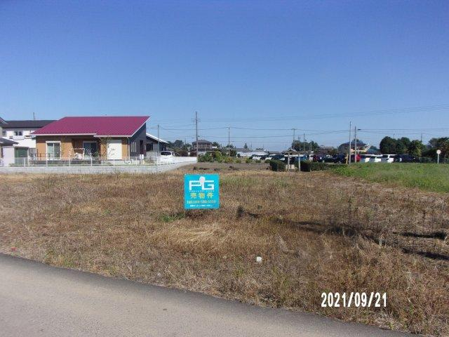 【前面道路含む現地写真】深谷市長在家 750万 土地