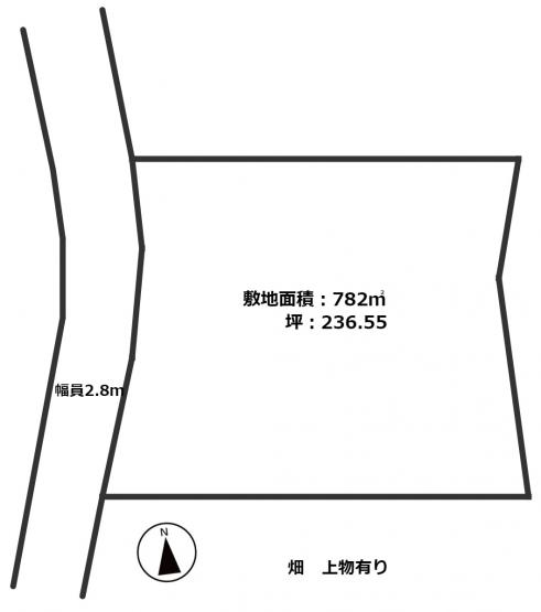 江原600万円売地