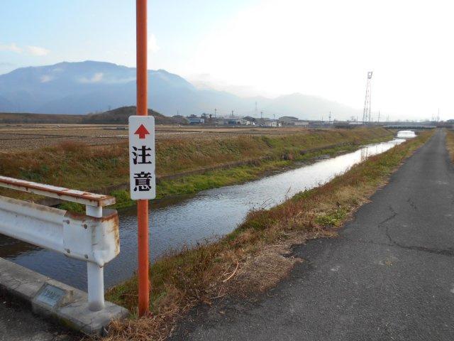 東側に横川が流れています! 周辺には散歩されている方もいらっしゃいました!
