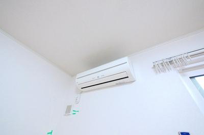 エアコン完備物件です