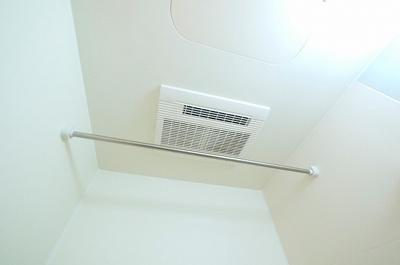 浴室乾燥機など設備充実です