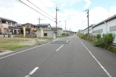 前面道路幅員約9.5m