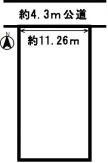【区画図】17535 岐阜市曽我屋土地