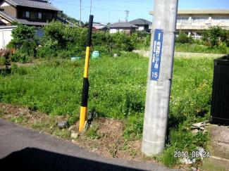 【区画図】30818 岐阜市向加野土地
