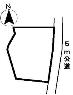 【区画図】31262 山県市大桑土地