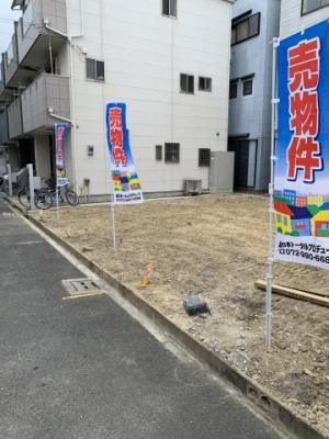 【外観】堺市北区奥本町 売土地