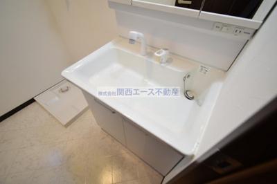【洗面所】エスポワール瓢箪山