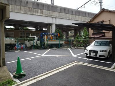 的場駐車場