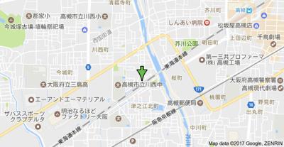 【地図】サンユーハイツ (株)Roots