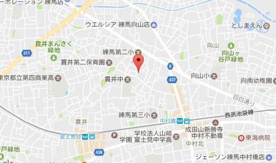 【地図】サヴォイ中村橋
