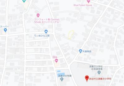【地図】【売土地】読谷村瀬名波