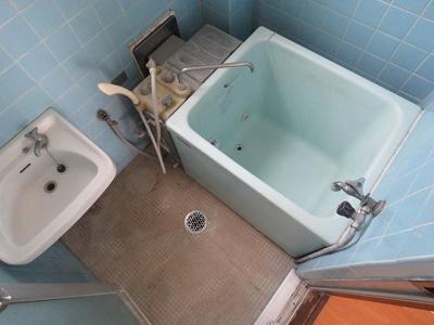 【浴室】アケボノハイツ