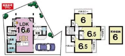 新築プラン《建物面積:80.64㎡ 価格:3099万円》